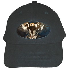Golden Eagle Black Baseball Cap