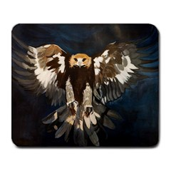 Golden Eagle Large Mouse Pad (rectangle) by JUNEIPER07