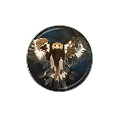 Golden Eagle Golf Ball Marker 4 Pack (for Hat Clip) by JUNEIPER07