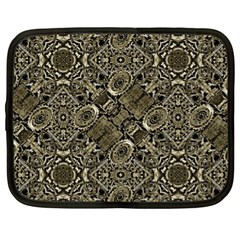 Steam Punk Pattern Print Netbook Sleeve (xl) by dflcprints