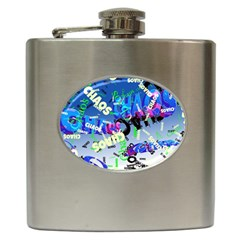 Pure Chaos Hip Flask by StuffOrSomething