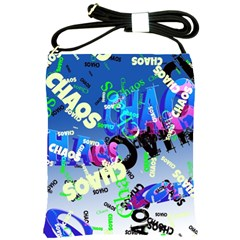 Pure Chaos Shoulder Sling Bag by StuffOrSomething