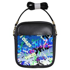 Pure Chaos Girl s Sling Bag by StuffOrSomething
