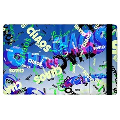 Pure Chaos Apple Ipad 3/4 Flip Case by StuffOrSomething