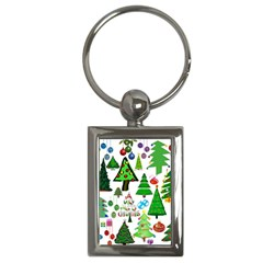 Oh Christmas Tree Key Chain (rectangle) by StuffOrSomething
