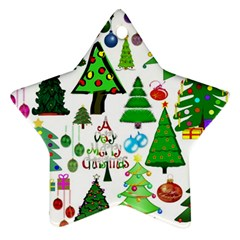 Oh Christmas Tree Star Ornament (two Sides) by StuffOrSomething