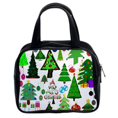 Oh Christmas Tree Classic Handbag (two Sides) by StuffOrSomething
