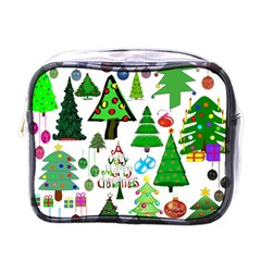 Oh Christmas Tree Mini Travel Toiletry Bag (one Side) by StuffOrSomething