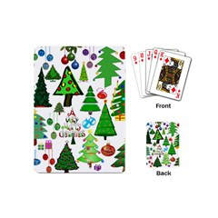 Oh Christmas Tree Playing Cards (mini)