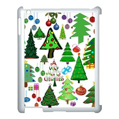 Oh Christmas Tree Apple Ipad 3/4 Case (white) by StuffOrSomething