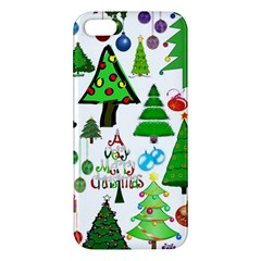 Oh Christmas Tree Apple Iphone 5 Premium Hardshell Case by StuffOrSomething