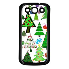 Oh Christmas Tree Samsung Galaxy S3 Back Case (black) by StuffOrSomething