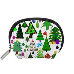 Oh Christmas Tree Accessory Pouch (small) by StuffOrSomething