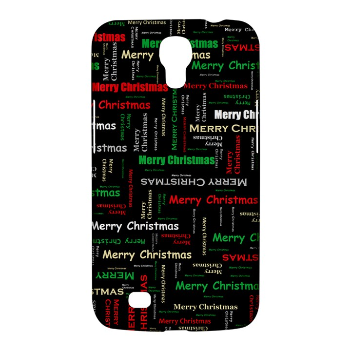 Merry Christmas Typography Art Samsung Galaxy Mega 6.3  I9200 Hardshell Case