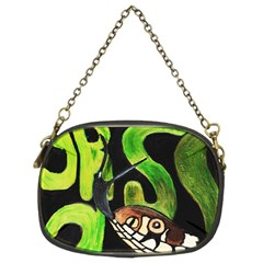 Grass Snake Chain Purse (two Sided)