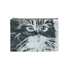 Kitten Bag Cosmetic Bag (medium) by JUNEIPER07