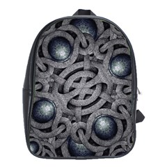 Mystic Arabesque School Bag (large) by dflcprints