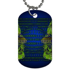 Binary Communication Dog Tag (one Sided)