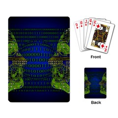 Binary Communication Playing Cards Single Design