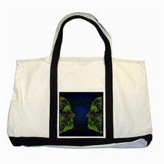 Binary Communication Two Toned Tote Bag
