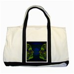 Binary Communication Two Toned Tote Bag Front