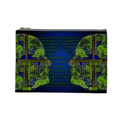 Binary Communication Cosmetic Bag (large)