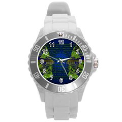 Binary Communication Plastic Sport Watch (large) by StuffOrSomething