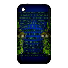 Binary Communication Apple Iphone 3g/3gs Hardshell Case (pc+silicone)