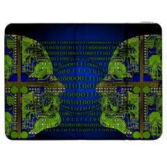 Binary Communication Samsung Galaxy Tab 7  P1000 Flip Case