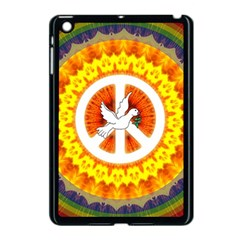 Psychedelic Peace Dove Mandala Apple Ipad Mini Case (black)