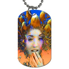 Organic Medusa Dog Tag (one Sided) by icarusismartdesigns