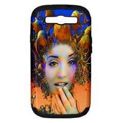 Organic Medusa Samsung Galaxy S Iii Hardshell Case (pc+silicone) by icarusismartdesigns