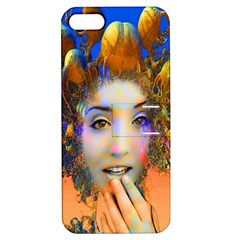 Organic Medusa Apple Iphone 5 Hardshell Case With Stand by icarusismartdesigns