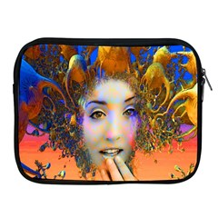 Organic Medusa Apple Ipad Zippered Sleeve by icarusismartdesigns