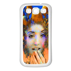 Organic Medusa Samsung Galaxy S3 Back Case (white) by icarusismartdesigns