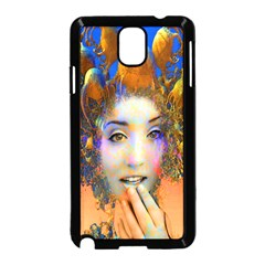 Organic Medusa Samsung Galaxy Note 3 Neo Hardshell Case (black) by icarusismartdesigns