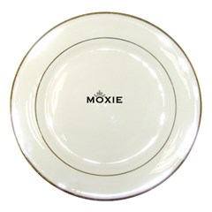 Moxie Logo Porcelain Display Plate