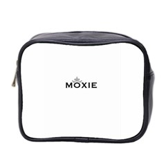 Moxie Logo Mini Travel Toiletry Bag (two Sides)
