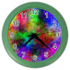 Plasma 21 Wall Clock (color) by BestCustomGiftsForYou