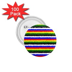 Horizontal Basic Colors Curly Stripes 1 75  Button (100 Pack) by BestCustomGiftsForYou