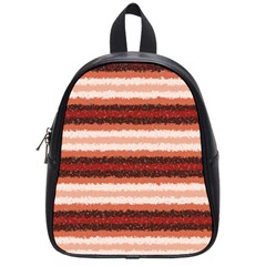 Horizontal Native American Curly Stripes   1 School Bag (small) by BestCustomGiftsForYou