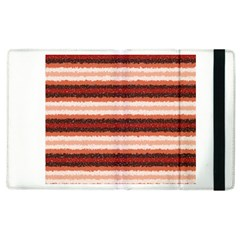 Horizontal Native American Curly Stripes   1 Apple Ipad 3/4 Flip Case by BestCustomGiftsForYou