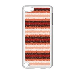 Horizontal Native American Curly Stripes   1 Apple Ipod Touch 5 Case (white) by BestCustomGiftsForYou