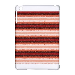 Horizontal Native American Curly Stripes   1 Apple Ipad Mini Hardshell Case (compatible With Smart Cover) by BestCustomGiftsForYou