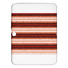 Horizontal Native American Curly Stripes   1 Samsung Galaxy Tab 3 (10 1 ) P5200 Hardshell Case  by BestCustomGiftsForYou