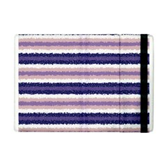Horizontal Native American Curly Stripes   2 Apple Ipad Mini Flip Case by BestCustomGiftsForYou