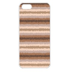 Horizontal Native American Curly Stripes   3 Apple Iphone 5 Seamless Case (white)