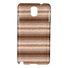 Horizontal Native American Curly Stripes   3 Samsung Galaxy Note 3 N9005 Hardshell Case by BestCustomGiftsForYou