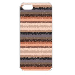 Horizontal Native American Curly Stripes   4 Apple Iphone 5 Seamless Case (white) by BestCustomGiftsForYou