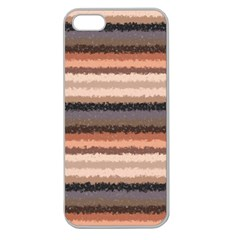 Horizontal Native American Curly Stripes   4 Apple Seamless Iphone 5 Case (clear) by BestCustomGiftsForYou